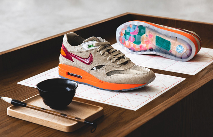 CLOT Nike Air Max 1 Kiss of Death Beige DD1870-100 03