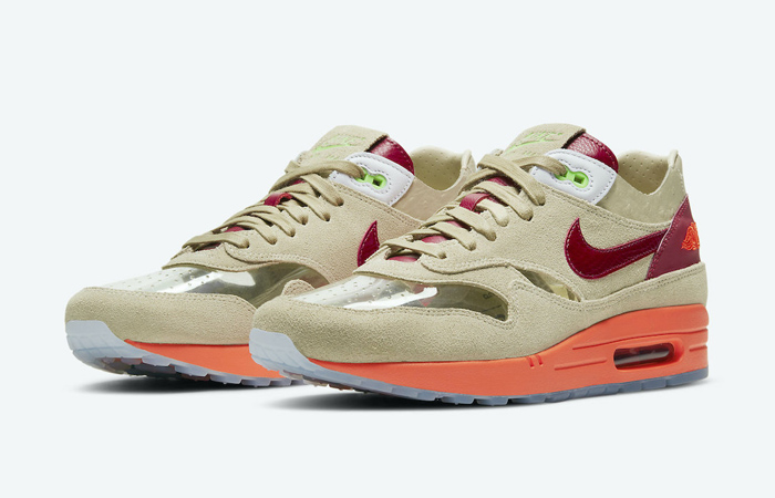 CLOT Nike Air Max 1 Kiss of Death Beige DD1870-100 05