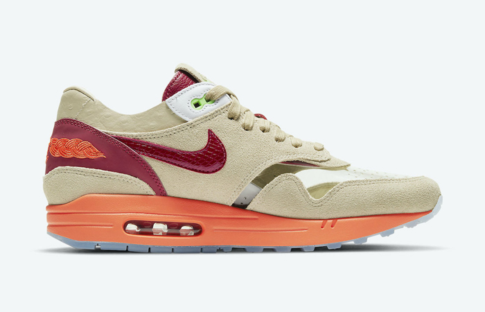 CLOT Nike Air Max 1 Kiss of Death Beige DD1870-100 06