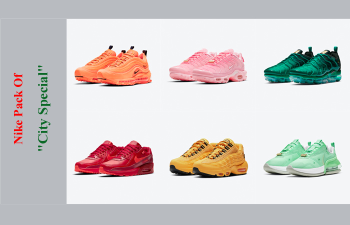 Introducing 2021 City Special Pack Of Nike ft