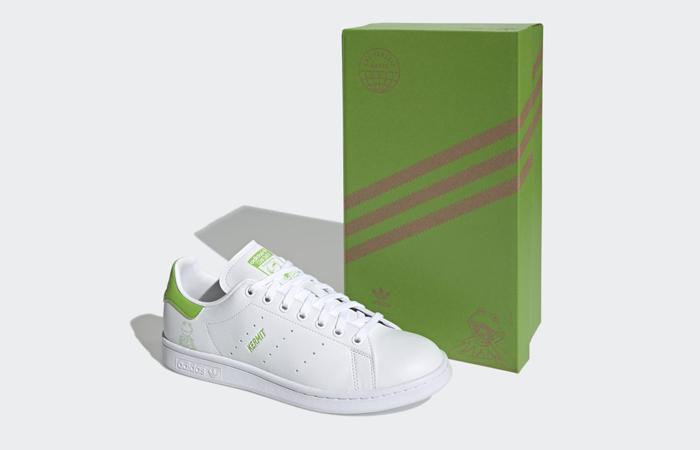Kermit the Frog adidas Stan Smith White Pantone FX5550 02
