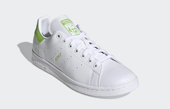 Kermit the Frog adidas Stan Smith White Pantone FX5550 03