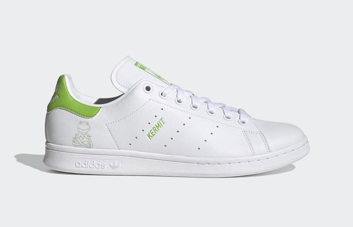 Kermit the Frog adidas Stan Smith White Pantone FX5550 04
