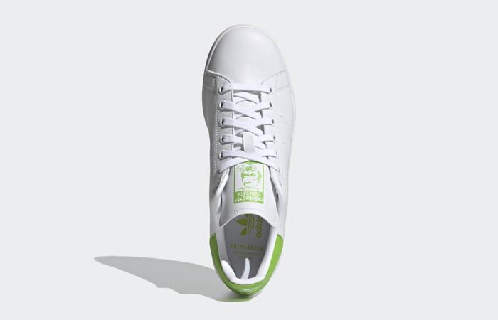Kermit the Frog adidas Stan Smith White Pantone FX5550 05