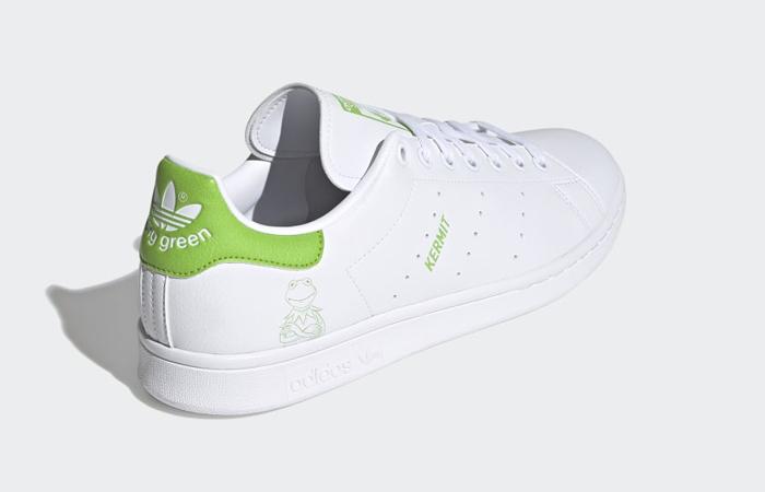 Kermit the Frog adidas Stan Smith White Pantone FX5550 06