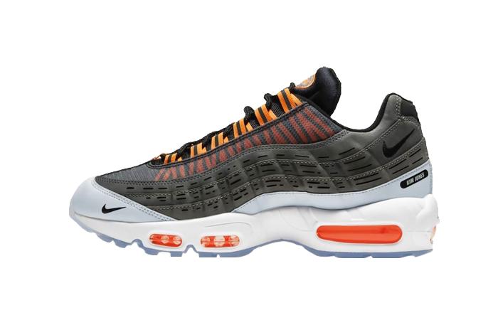 Kim Jones Nike Air Max 95 Black Total Orange DD1871-001 01