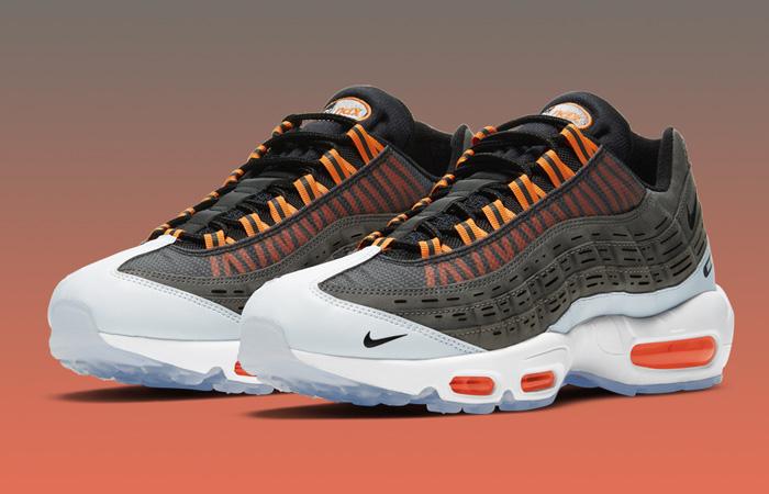 Kim Jones Nike Air Max 95 Black Total Orange DD1871-001 03