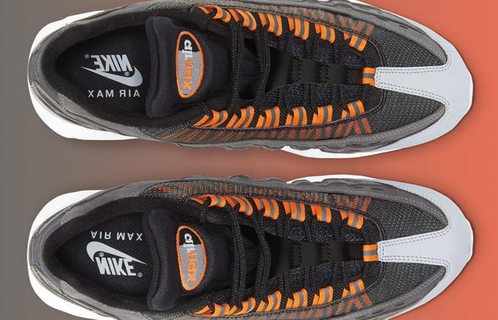 Kim Jones Nike Air Max 95 Black Total Orange DD1871-001 05