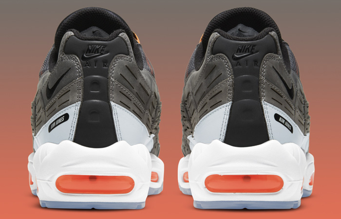Kim Jones Nike Air Max 95 Black Total Orange DD1871-001 06