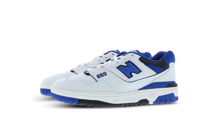 New Balance 550 White Blue BB550SN1 03
