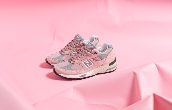 New Balance 991 Shy Pink M991PNK 05