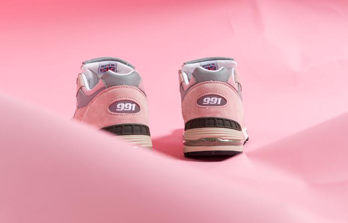 New Balance 991 Shy Pink M991PNK 07