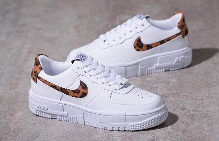 Nike Air Force 1 Pixel Leopard White Womens CV8481-100 02