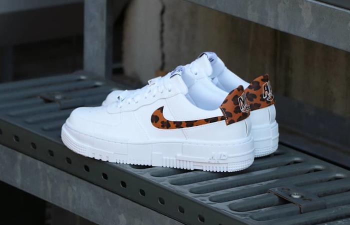 Nike Air Force 1 Pixel Leopard White Womens CV8481-100 03