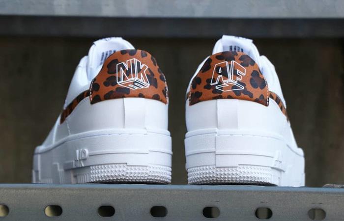 Nike Air Force 1 Pixel Leopard White Womens CV8481-100 04