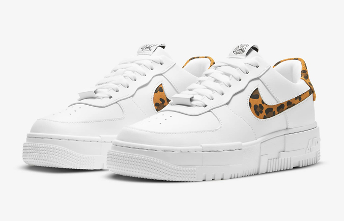 Nike Air Force 1 Pixel Leopard White Womens CV8481-100 05
