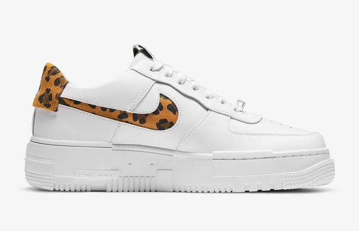 Nike Air Force 1 Pixel Leopard White Womens CV8481-100 06
