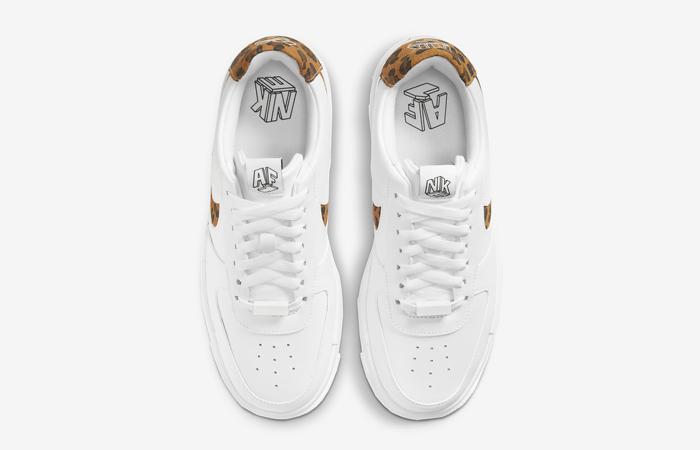 Nike Air Force 1 Pixel Leopard White Womens CV8481-100 07