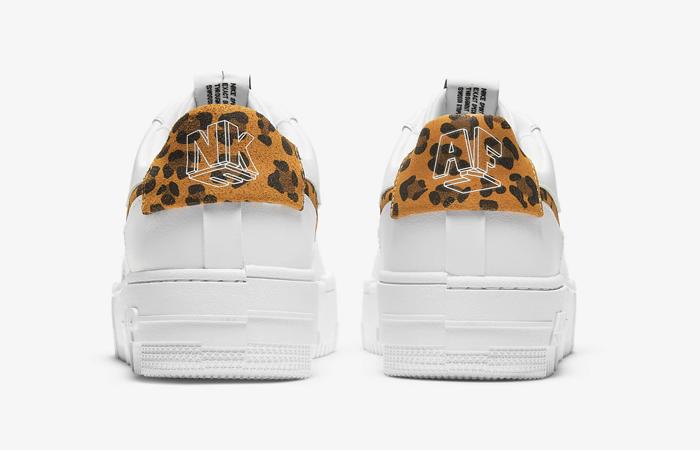 Nike Air Force 1 Pixel Leopard White Womens CV8481-100 08