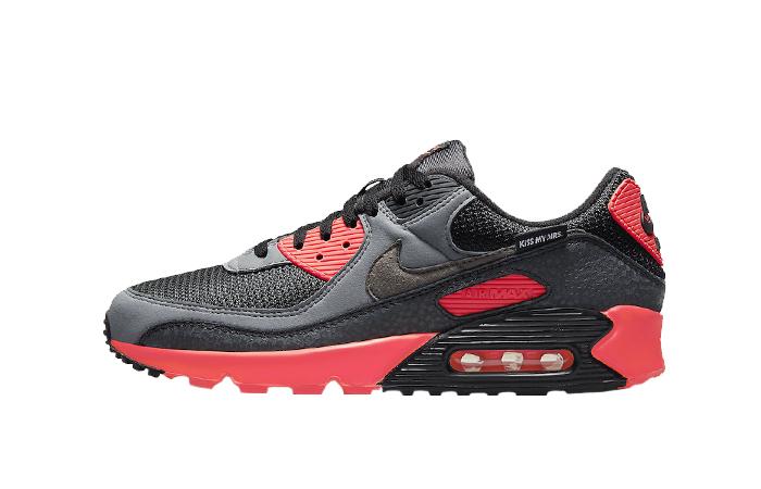 Nike Air Max 90 Kiss My Airs Laser Crimson DJ4626-001 01