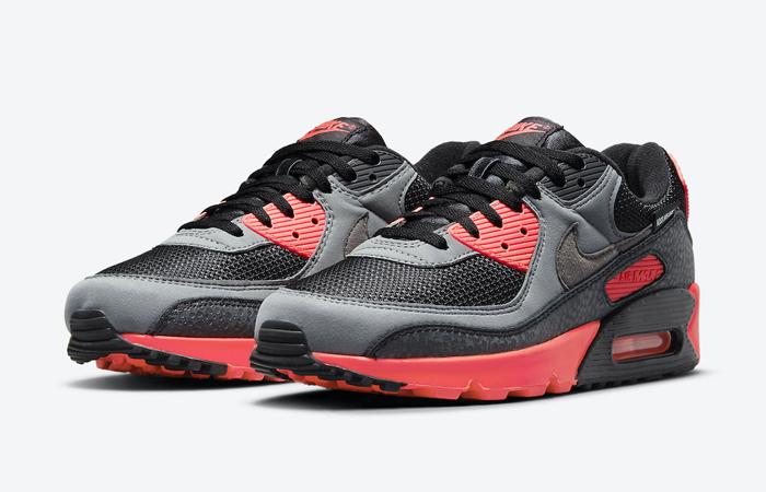 Nike Air Max 90 Kiss My Airs Laser Crimson DJ4626-001 02
