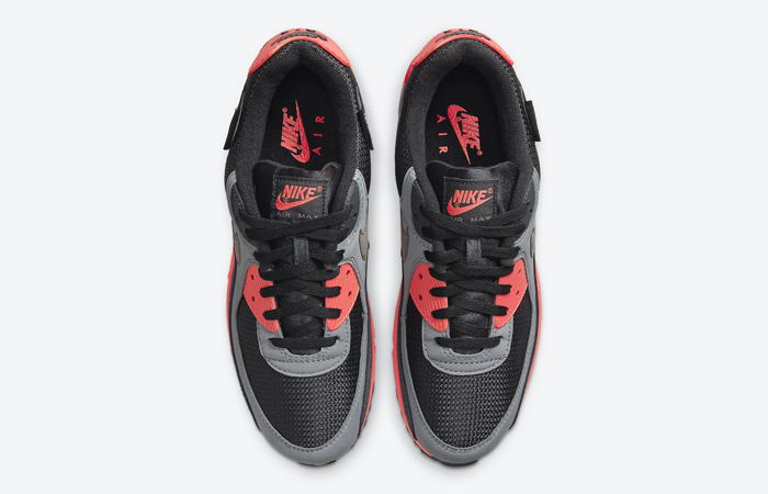 Nike Air Max 90 Kiss My Airs Laser Crimson DJ4626-001 04