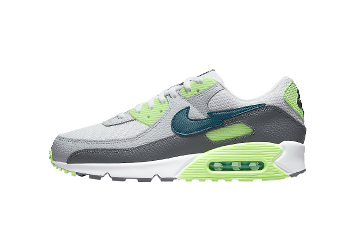 Nike Air Max 90 Lime Glow White DJ6897-100 01