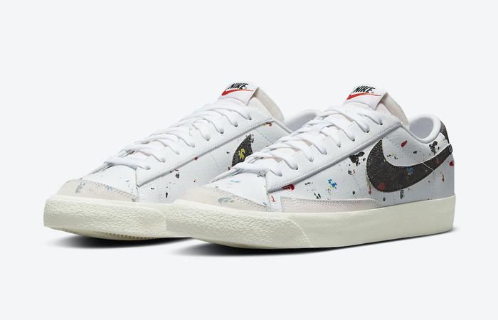 Nike Blazer Low Paint Splatter DJ1517-100 02