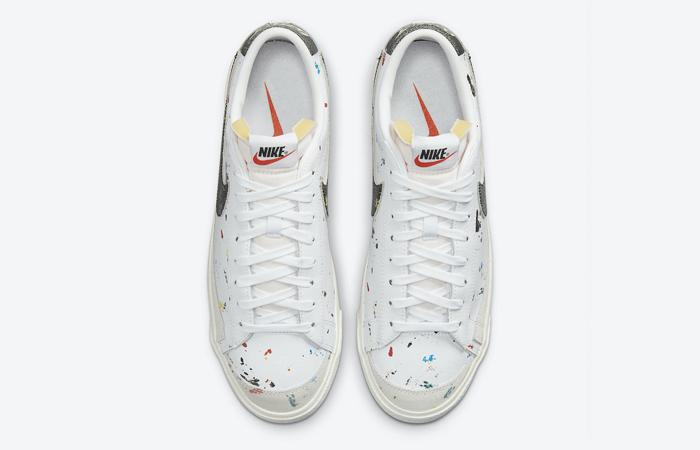 Nike Blazer Low Paint Splatter DJ1517-100 04