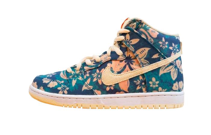 Nike Dunk High Hawaii CZ2232-300 01