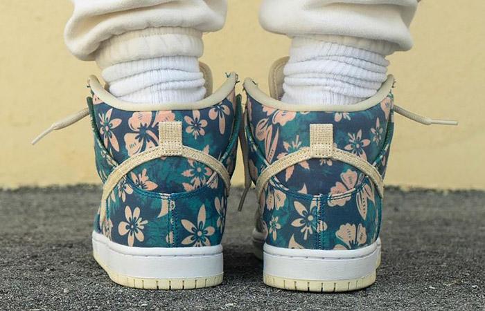 Nike Dunk High Hawaii CZ2232-300 on foot 03