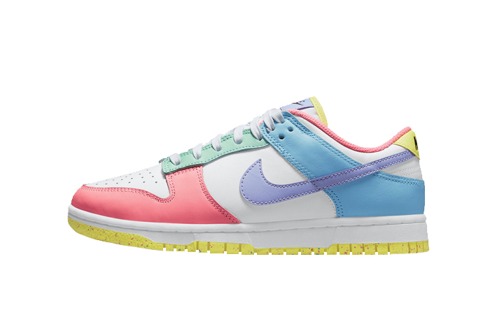Nike Dunk Low Easter Pastel Multi Womens DD1872-100 01