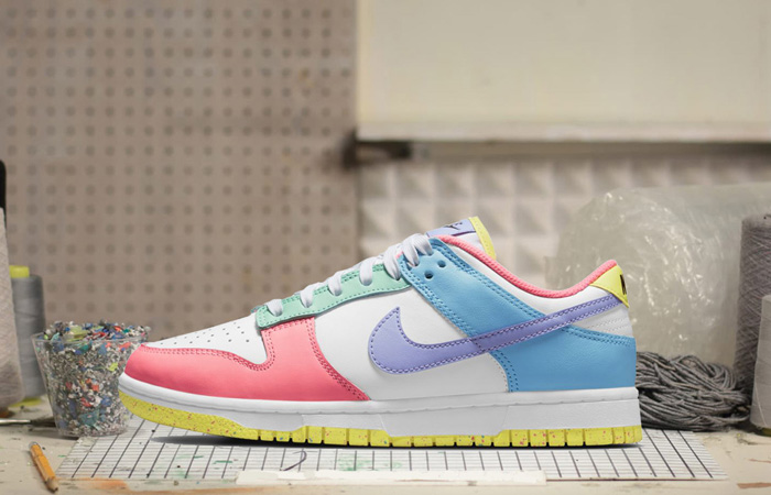 Nike Dunk Low Easter Pastel Multi Womens DD1872-100 02