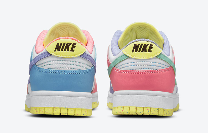 Nike Dunk Low Easter Pastel Multi Womens DD1872-100 06