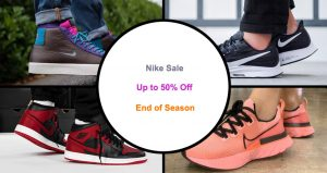 Nike End Of Season Sale Up To 50% Off