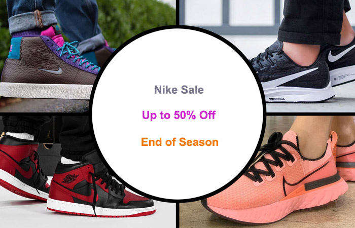 Nike End Of Season Sale Up To 50% Off ft