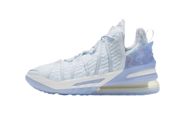 Nike LeBron 18 Play for the Future Blue Tint CW3156-400 01