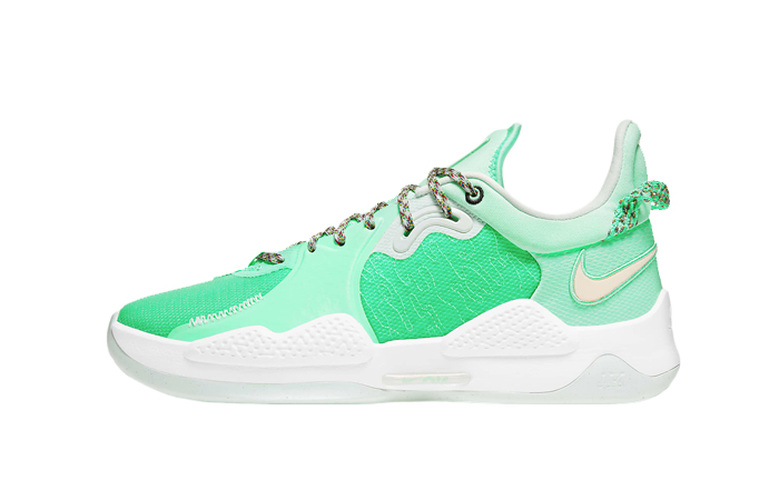 Nike PG 5 Play for the Future Green Glow CW3143-300 01