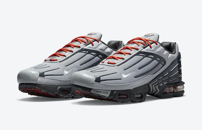 Nike TN Air Max Plus 3 Grey Orange DM2560-001 - Fastsole