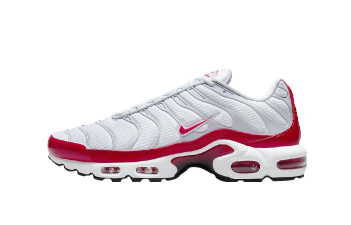 Nike TN Air Max Plus White University Red DM8332-100 01