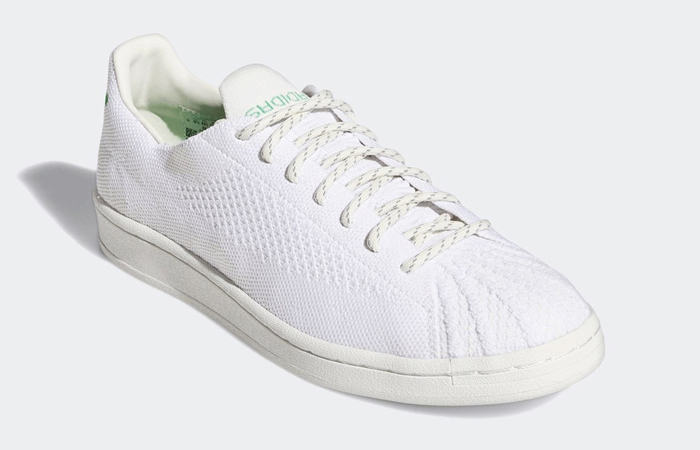 Pharrell adidas Superstar Primeknit Cloud White GX0194 02