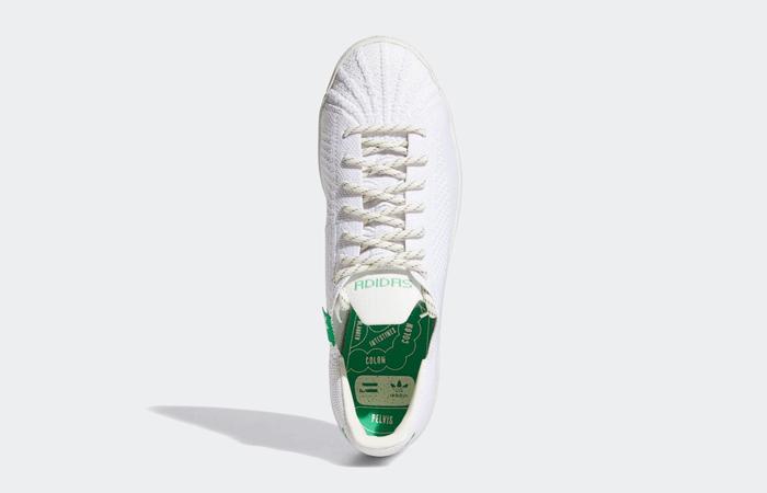 Pharrell adidas Superstar Primeknit Cloud White GX0194 04