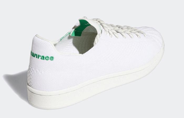Pharrell adidas Superstar Primeknit Cloud White GX0194 05