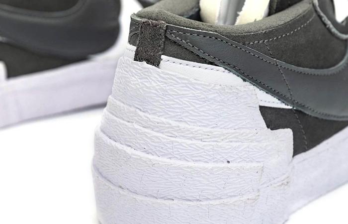 Sacai Nike Blazer Low Dark Grey White DD1877-002 08