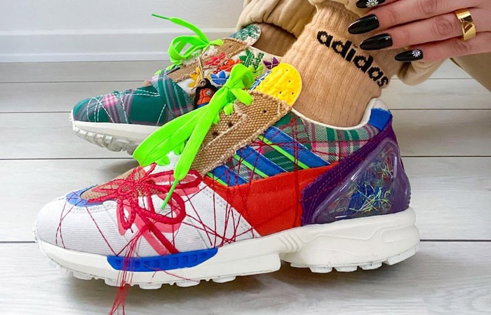 Sean Wotherspoon adidas ZX 8000 Super Earth Multi GZ3088 on foot 01
