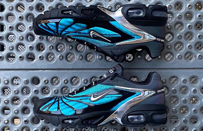 Skepta Nike Air Max Tailwind V Chrome Blue CQ8714-001 03