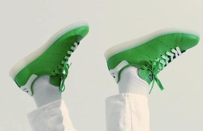 adidas Stan Smith Rex White Pantone FZ2705 on foot 01