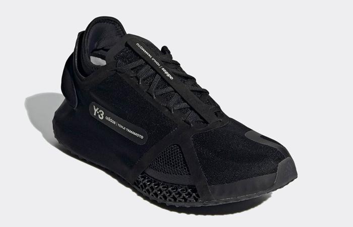 adidas Y-3 Runner 4D IO Black FZ4502 02
