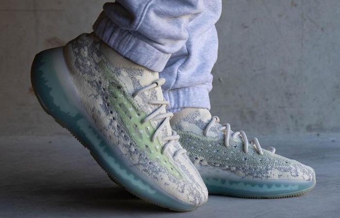adidas Yeezy Boost 380 Alien Blue GW0304 on foot 01