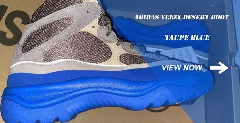 adidas Yeezy Desert Boot Taupe Blue GY0374 Slider